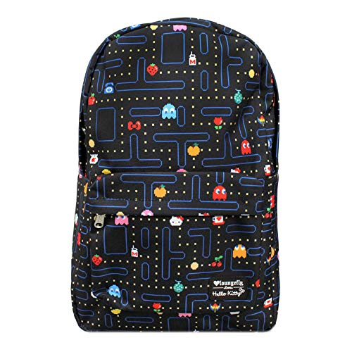 Loungefly x Hello Kitty x Pac Man Maze Backpack