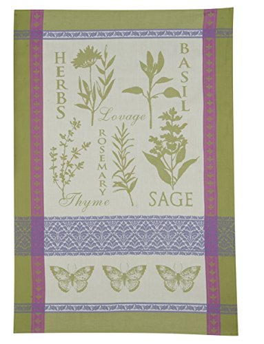 Kay Dee Designs Cotton Jacquard Tea Towel, 18 by 28-Inch, Garden - Dish Towel Jacquard