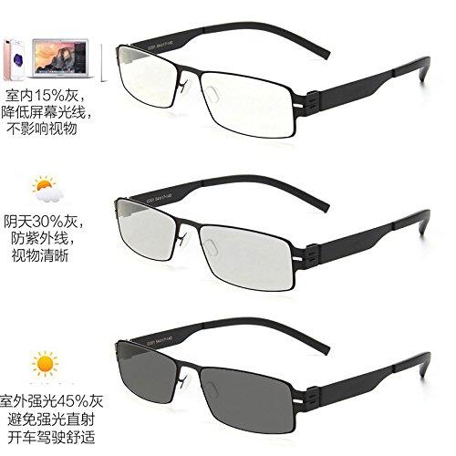 polarización negro teléfono plano anti azules clásico juego plano gafas móvil Black Classic espejo KOMNY Color unidad juegos hombre mujeres equipo gafas qPUw5ExY