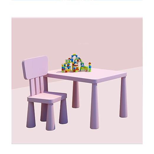 Estudio de la plaza del escritorio del bebé de plástico Juego de ...