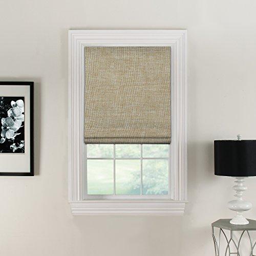 Furniture Fresh Flat Roman Shades-Blackout, Thermal-(26