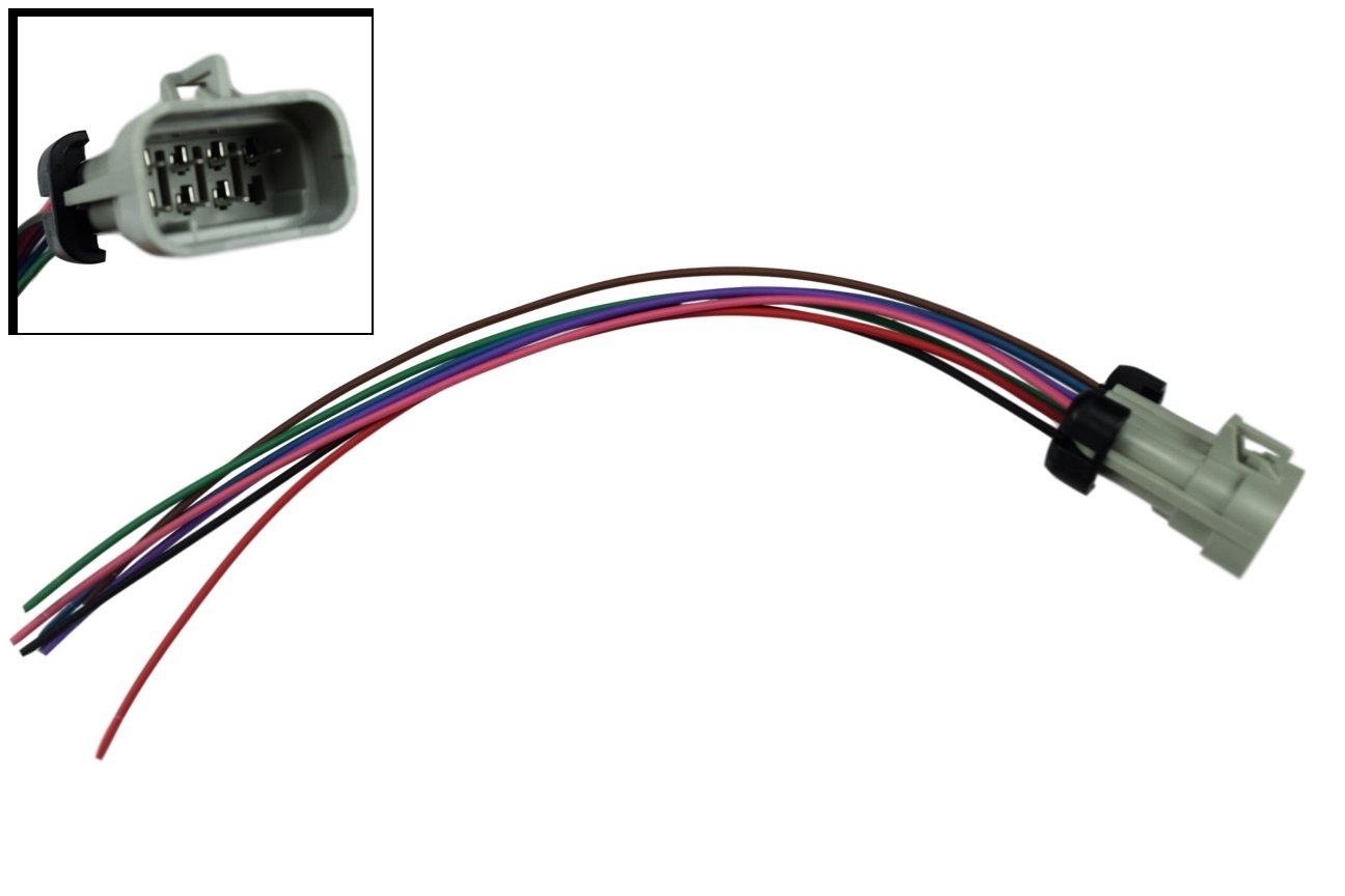 ls ignition coil wire main female connector pigtail harness wiring ls2 ls3  lq4 lsx , 551333-chfp: amazon co uk: car & motorbike
