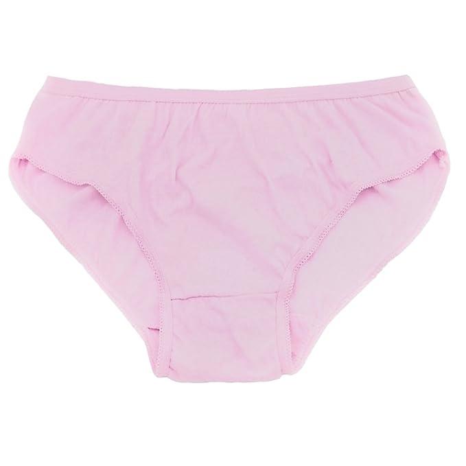Starly Mujeres Desechables 100% algodón Viajes Ropa Interior Baja Subida Escritos para Adolescente Rosa (