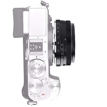 MK 28 mm F2.8 Lente de la cámara, Profesional APS-C Enfoque Fijo ...