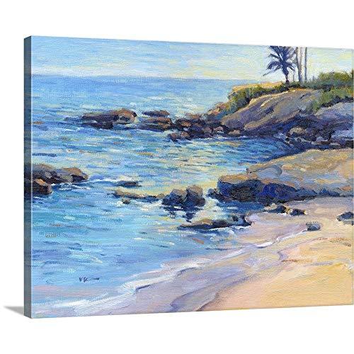 Plein Air Laguna - September Light Canvas Wall Art Print, 30