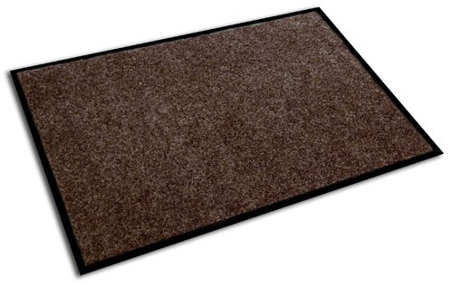 Doortex Eco-Friendly Plush Indoor Entrance Mat, Walnut, 48 x 36 Inches (ECOP3648WA) (Printed Chair Mat)