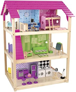 KidKraft So Chic Dollhouse w/46 Accessories