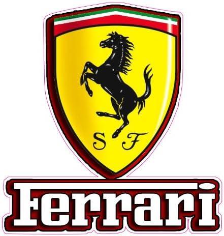 Nostalgia Decals Ferrari Emblem Aufkleber Auto