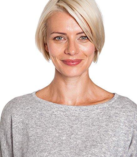 WoolOvers Robe ceinturée - Femme - Cachemire & Mérinos Flannel Grey, XL