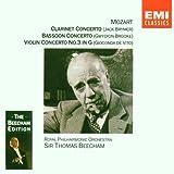 Mozart Concertos Clarinette K.622 Concerto pour violon N°3 Concerto pour basson [Import anglais]