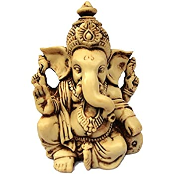 35 Lord Ganesh Ganesha Statue Sculpted In Great Detail With Antique Finish Idol For Car Home Decor Mandir Gift Hindu God