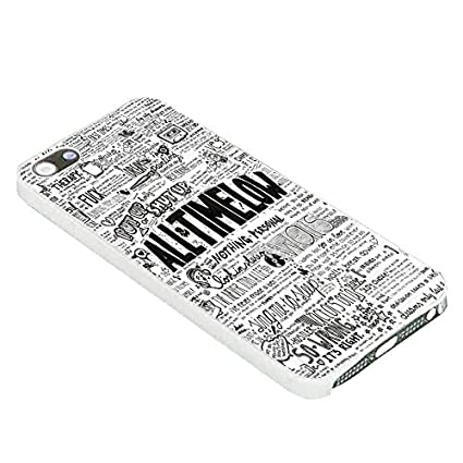 All Time Low Quotes Art for Iphone Case (iPhone 5C white ...