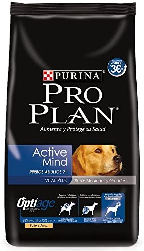 Pro Plan Comida para Perro Active Mind, Razas Medianas y Grandes 2