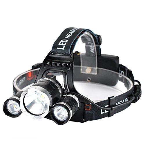 Pulomi Headlamp Flashlight Batteries Charger product image