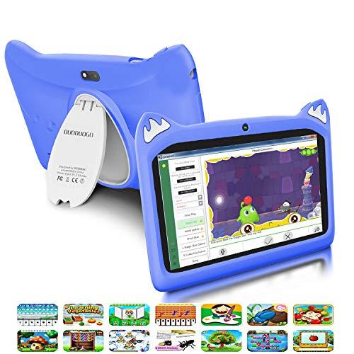 🥇 Tablet para Niños con WiFi 7.0 Pulgadas 3GB RAM 32GB/128GB ROM Android 9.0 Pie Certificado por Google GMS Tablet Infantil 1.5Ghz Quad Core Batería 4000mAh Tablet PC Netflix Juegos Educativos