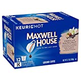 Kyпить Maxwell House Vanilla Hazelnut Coffee, Medium Roast, K-Cup Pods, 12 count (Pack of 6) на Amazon.com