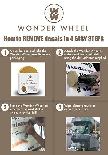 Decal Remover Eraser Wheel. Remove Car Decals, Vinyl ...