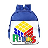 XJBD Custom Cool L Love Games Teenager School Bag Backpack For 1-6 Years Old RoyalBlue