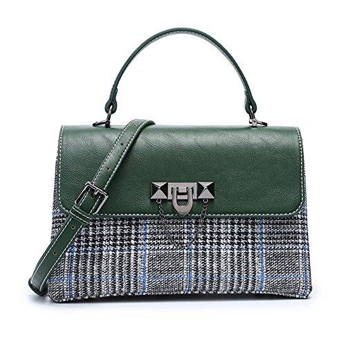 Embrayage Vintage Green épaule Main KYOKIM à Sac Femmes Bag Rétro Crossbody Carré Dames Messenger Sac Petit f5ZPqT