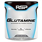 RSP Glutamine – Pure Micronized Glutamine Powder, Post Workout Muscle Recovery Supplement for Men and Women, Unflavored, 500 grams