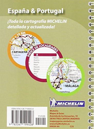 España & Portugal (Mini Atlas) (Atlas de carreteras Michelin): MICHELIN: Amazon.es: Belleza