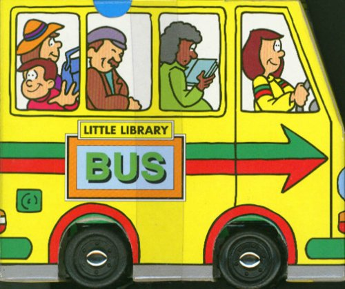 Bus (Little Library Series) Board book – Illustrated, January 1, 2005 Andrew Tlock New Line Books 1577171209 Children: Preschool