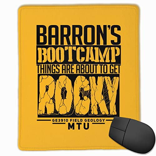 Padida Mouse Pad Barrons Bootcamp Mousepad Non-Slip Rubber Mouse Mat Pad Cute Rectangle Mouse Pads for Computers Laptop