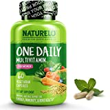 NATURELO One Daily Multivitamin for Women - Best for Hair, Skin, Nails