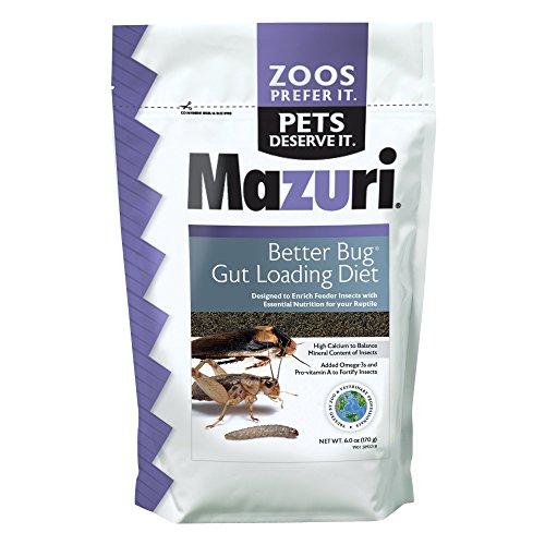 Mazuri Better Bug Gut Loading Diet, 6 oz Bag ()