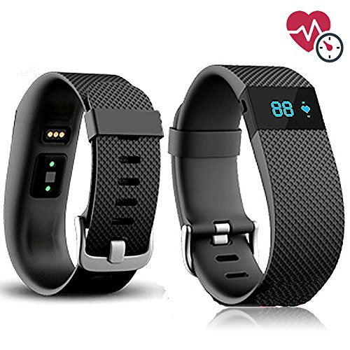 Sqdeal Original Smart Watch Heart Rate Monitor  Bluetooth Watch Bracelet Smart Band Calorie Counter Wireless Pedometer Sport Activity Tracker For Iphone Samsung Android Ios Phone