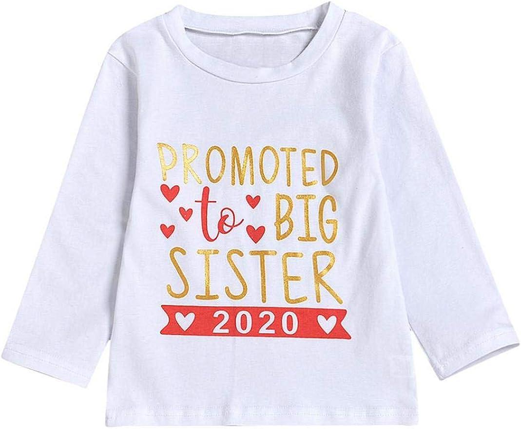 MJuan-clothing Kids Girl Printing Long Sleeve Crew Neck T-Shirt Top