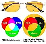 Eyekepper 97% Blue Light Blocking Readers-Half Rim