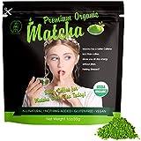 Classic & Ceremonial Organic Matcha Green Tea Powder 30g(1oz)|USDA Certified Organic Premium Culinary Grade|Great for Tea and Baked Goods|All Natural,Premium Quality,No Sugar Added.