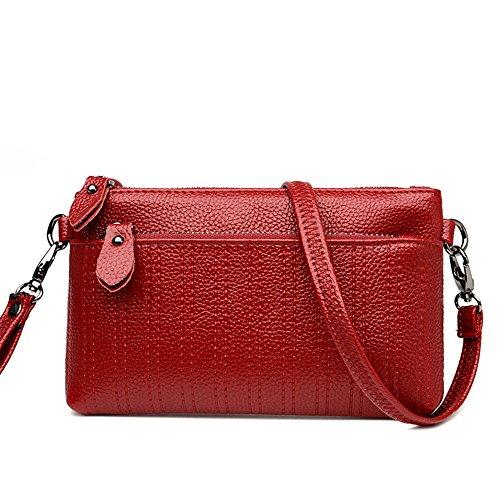 Red Broderie Noir Épaule Enveloppe Fil Pochette Paquet Sac Femmes De Meaeo Diagonale Nouveau Mode 67OqXUwB
