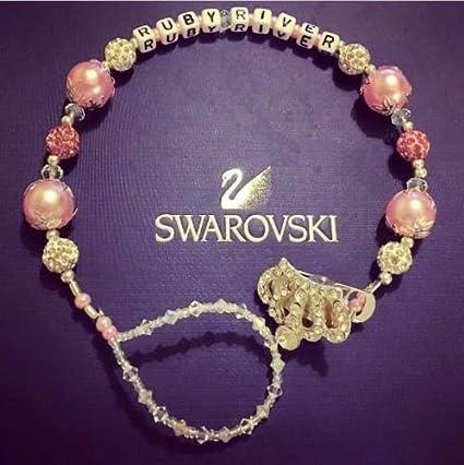 Corona gitana con cristales Swarovski y brillantes con nombre ...