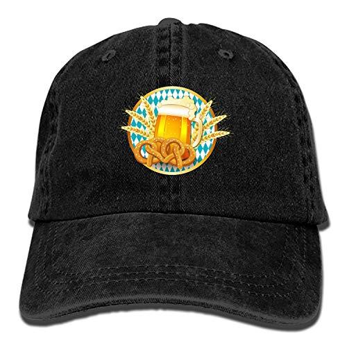 Unisex Wheat Beer Washed Cotton Baseball Cap Vintage Adjustable Dad Hat