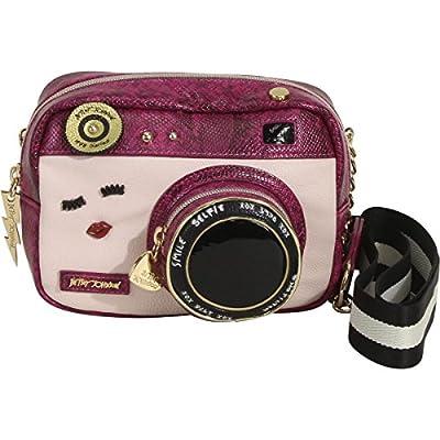 Betsey Johnson Kitsch Camera Cross Body Bag