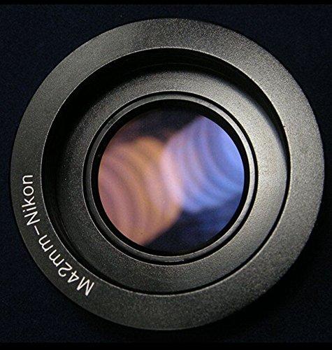 VILTROX M42-Nikon M42 lens to Nikon DSLR SLR camera F Mount Adapter ring With glass Infinity focus Nikon D7100 D7000 D5100 D800 D600 D90