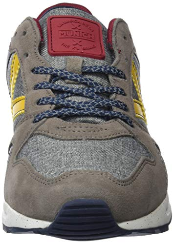 Marron Munich Trainers Adults' Brown 19 amarillo Alpha Unisex a7qSWrn7z