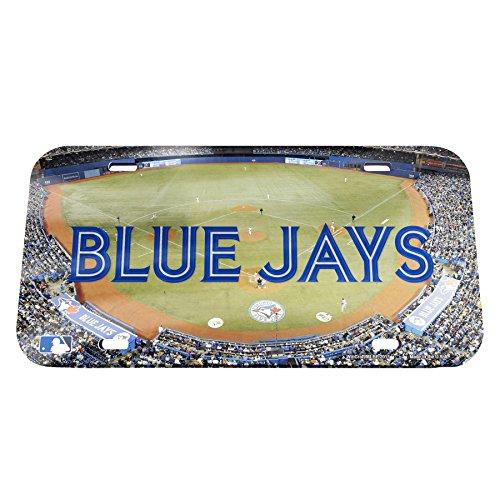(Wincraft MLB Toronto Blue Jays Stadium Crystal Mirror License Plate, 6 x 12)