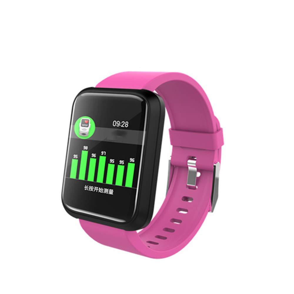 ZMM Bluetooth Smart Watch Ritmo cardíaco Monitor Smart Pulsera ...