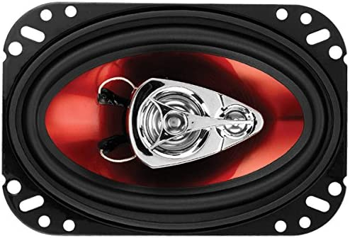 BOSS AUDIO SYSTEMS CAR SPEAKERS CH4630 - 250 WATTS OF POWER PER PAIR AND 125 WATTS EACH, 4 X 6 INCH, FULL RANGE, 3 WAY, SOLD IN PAIRS, EASY MOUNTING