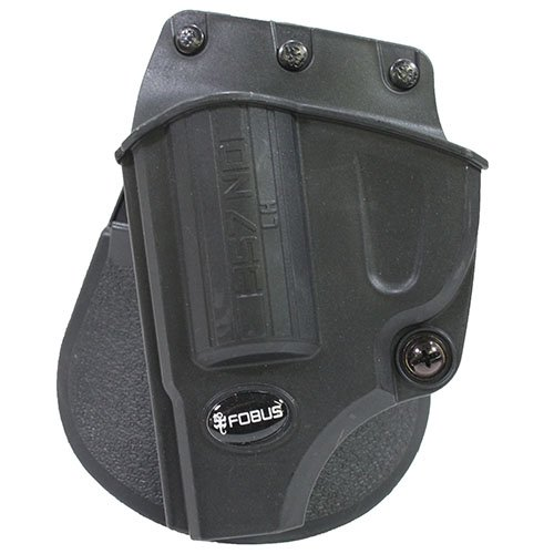 (Fobus Evolution Holster Roto Paddle Smith & Wesson J Frame Left Hand Belt, Black)