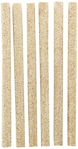 (Penn Plax (BA646) 6-Pack Sanded Perch Covers for Small Bird)