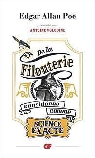 De la filouterie considérée comme science exacte par Edgar Allan Poe
