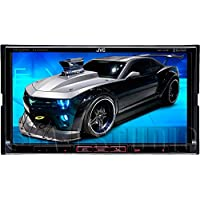 JVC KW-V41BT 2 Din Bluetooth Car DVD Receiver 7 Monitor w Android/iPhone Apps