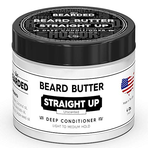Live Bearded Unscented Beard Butter, Straight Up...