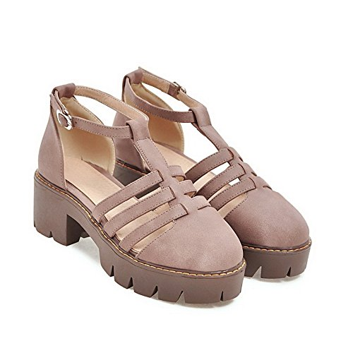 Urethane Pink Light ASL04431 BalaMasa Closed Lining Sandals Womens Cold Weight Sandals Toe 1RPPxFgq8w