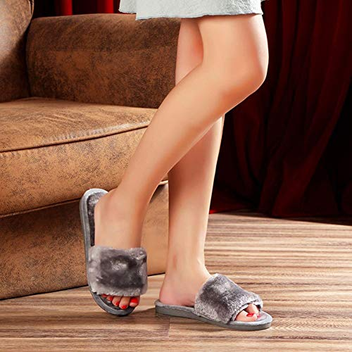 Scarpe Flop Invernali Flip Casa Pantofole Per Interni Donna Cotone Termiche Da Di Calore Ysfu 06BnY16