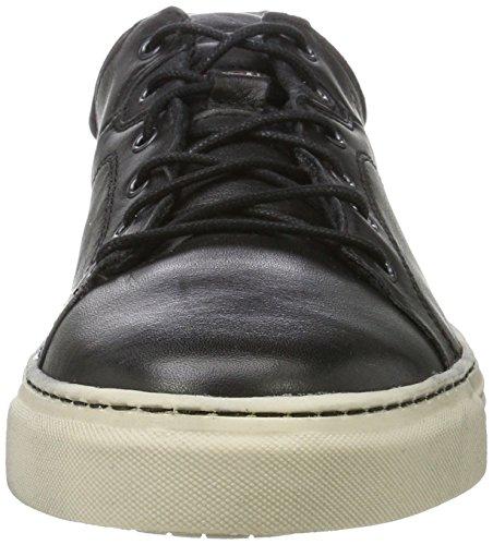 camel active Herren Bowl 31 Sneaker Schwarz (Black/Dk.Grey)